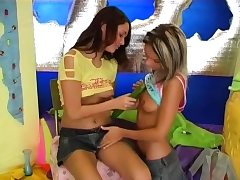 Teen schoolgirl gets a corpulent cock up her worked out cuch