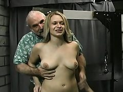 Breasty awesome chick maledom hard-core