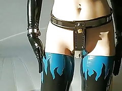Latex, Ballet Boots, Cuffs, Purity Belt...amazing
