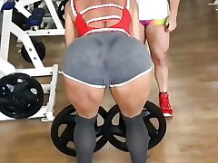 ASS TRANSPIRED IN THE GYM