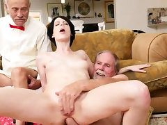 Youthfull hairy anal hd first-ever time Frannkie goes down the
