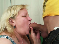 Wifey finds him fucking her senior obese mother!